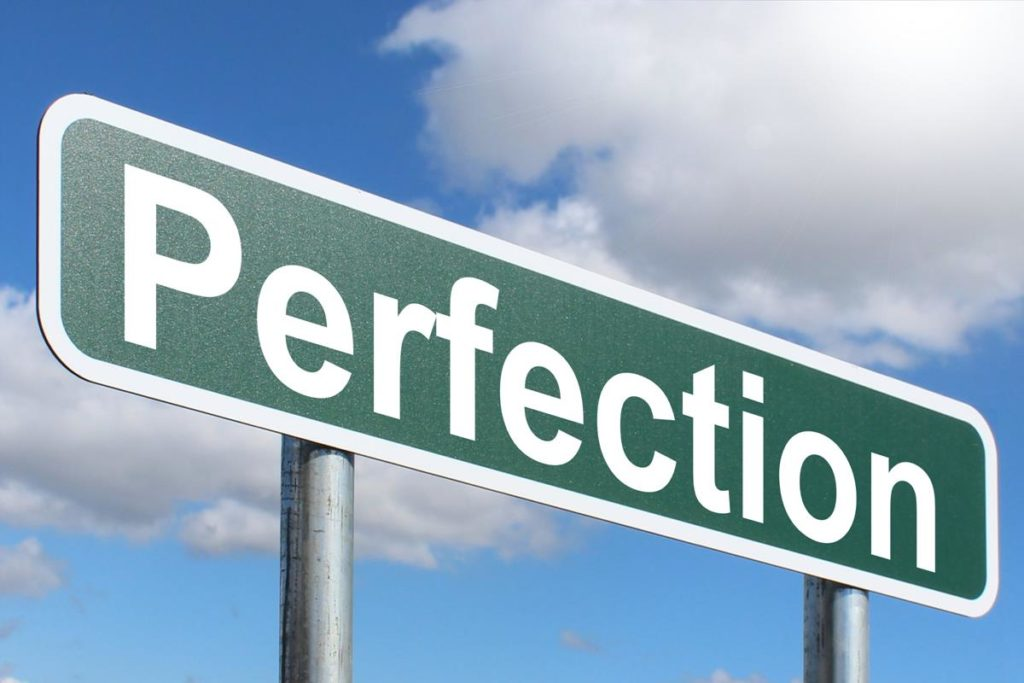 該追求完美?